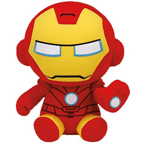 Ty Iron Man - Marvel - Beanie