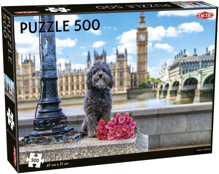 Dog in London 500 pieces