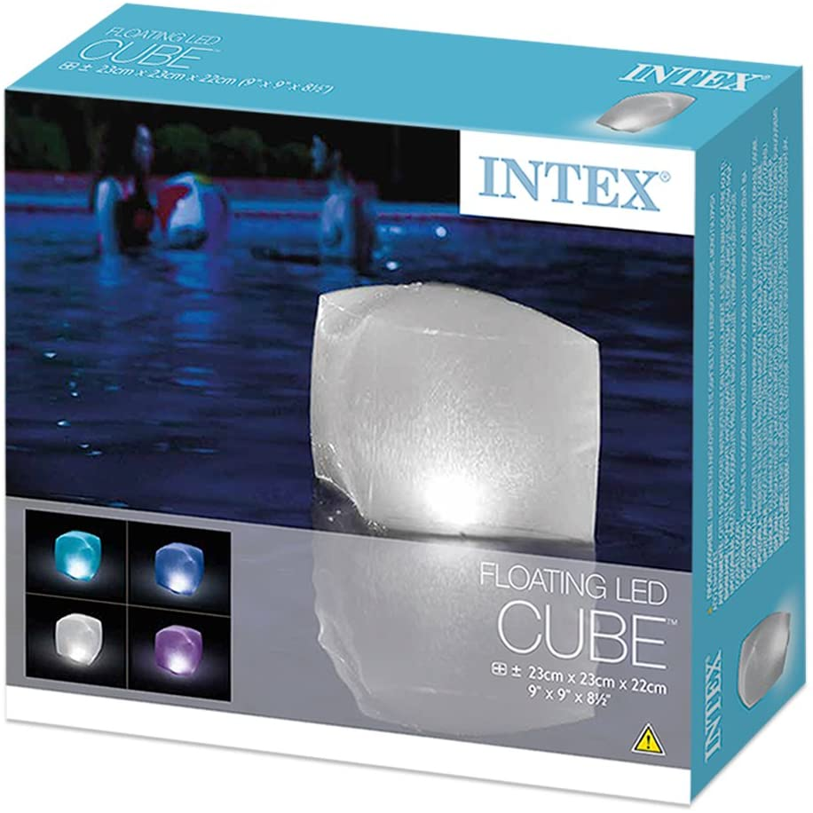 John Adams Floating LED Cube