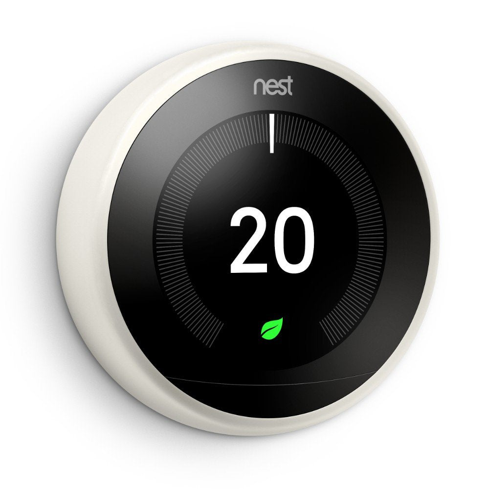 Google Nest Learning Thermostat 3rd Generation- White