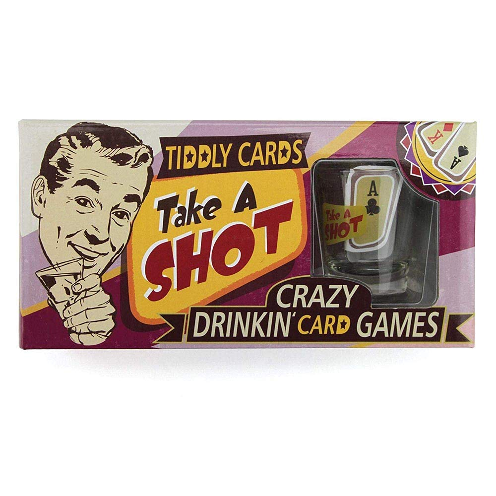 Take A Shot - Tiddly Cards