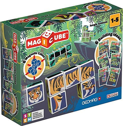Geomag Magicube Jungle Friends