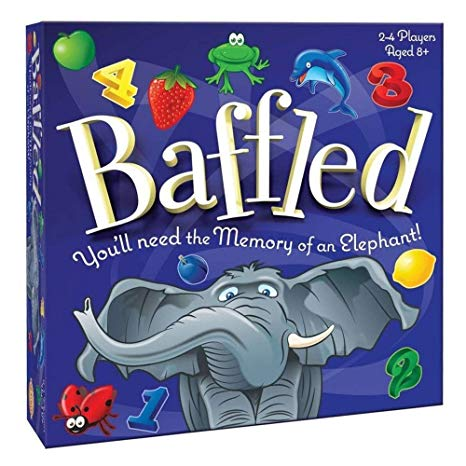 Cheatwell 'Baffled' Family Memory Board Game