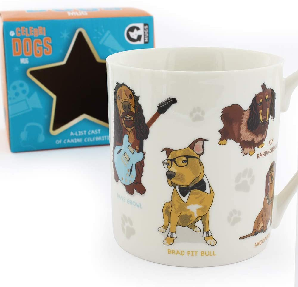 Celebrity Dog Novelty Mug