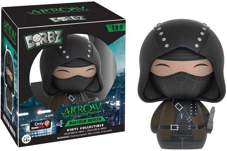 Dorbz Arrow Malcolm Merlyn GameStop Exclusive #199