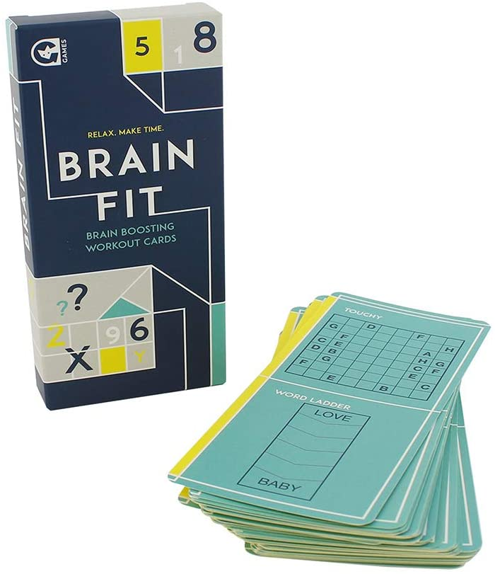 Relax Make Time Brain Fit Brain Boosting Workout Cards