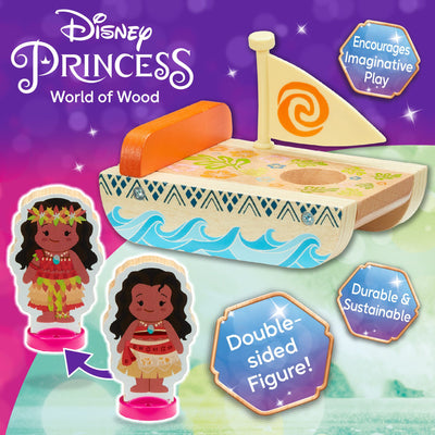 Disney Princess Wooden Mini Carriages (2 Assorted)