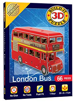 Build It 3D Puzzle - Mini London Bus