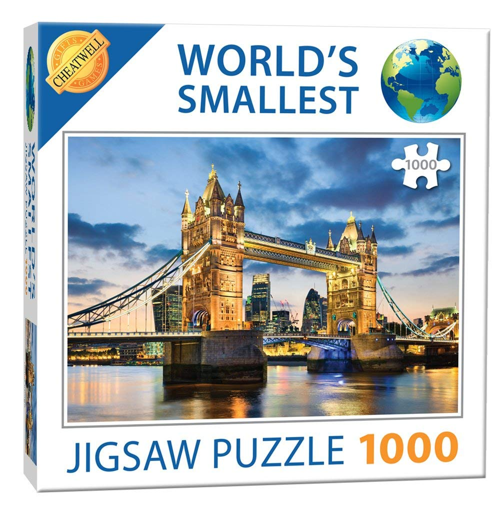 World's Smallest Puzzle - Tower Bridge