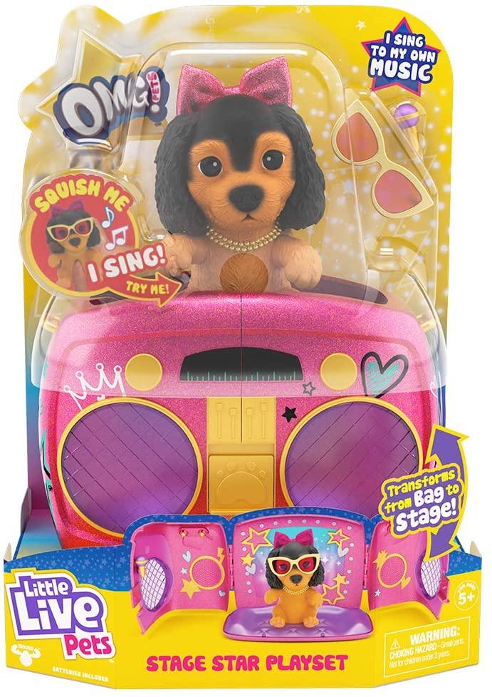 Little Live Pets Omg! Pup Star Playset