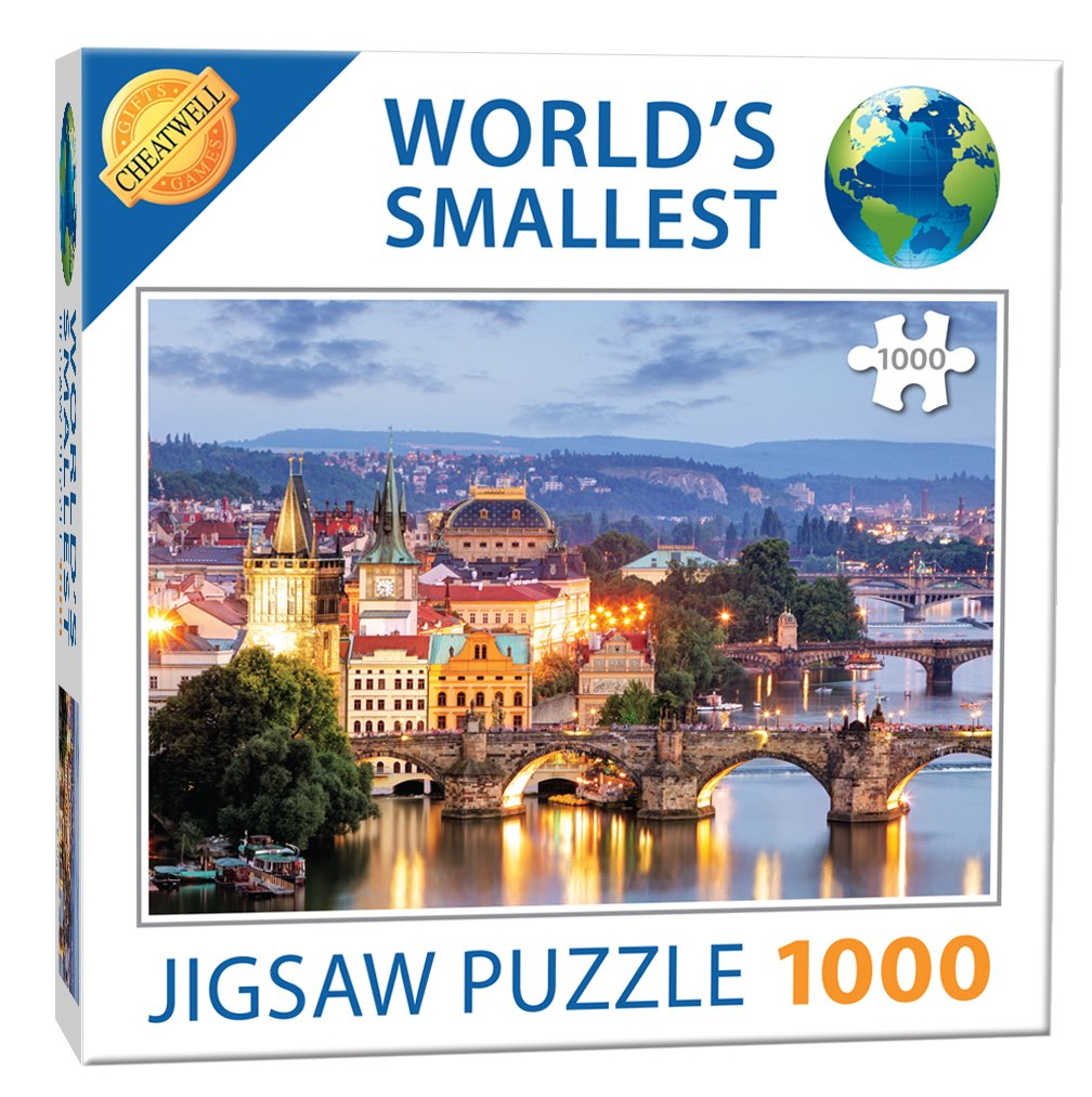 World's Smallest Puzzle - Prague Bridges