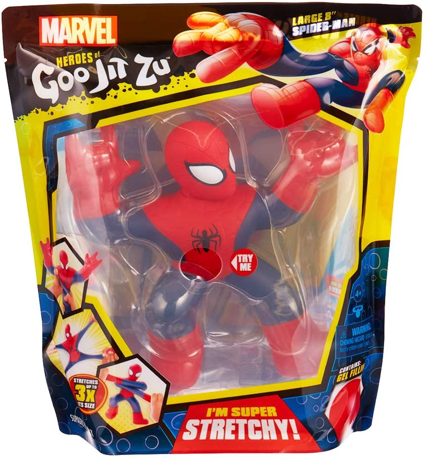 Heroes Of Goo Jit Zu Marvel Supagoo Spiderman