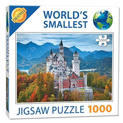 World's Smallest Puzzle - Neuschwanstein Castle