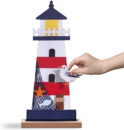 Wood & Felt Craft Kit - Make a Lighthouse