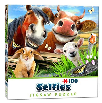 Mini Selfie Puzzle - Farmyard
