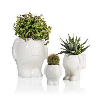 Astronaut Planter Medium White