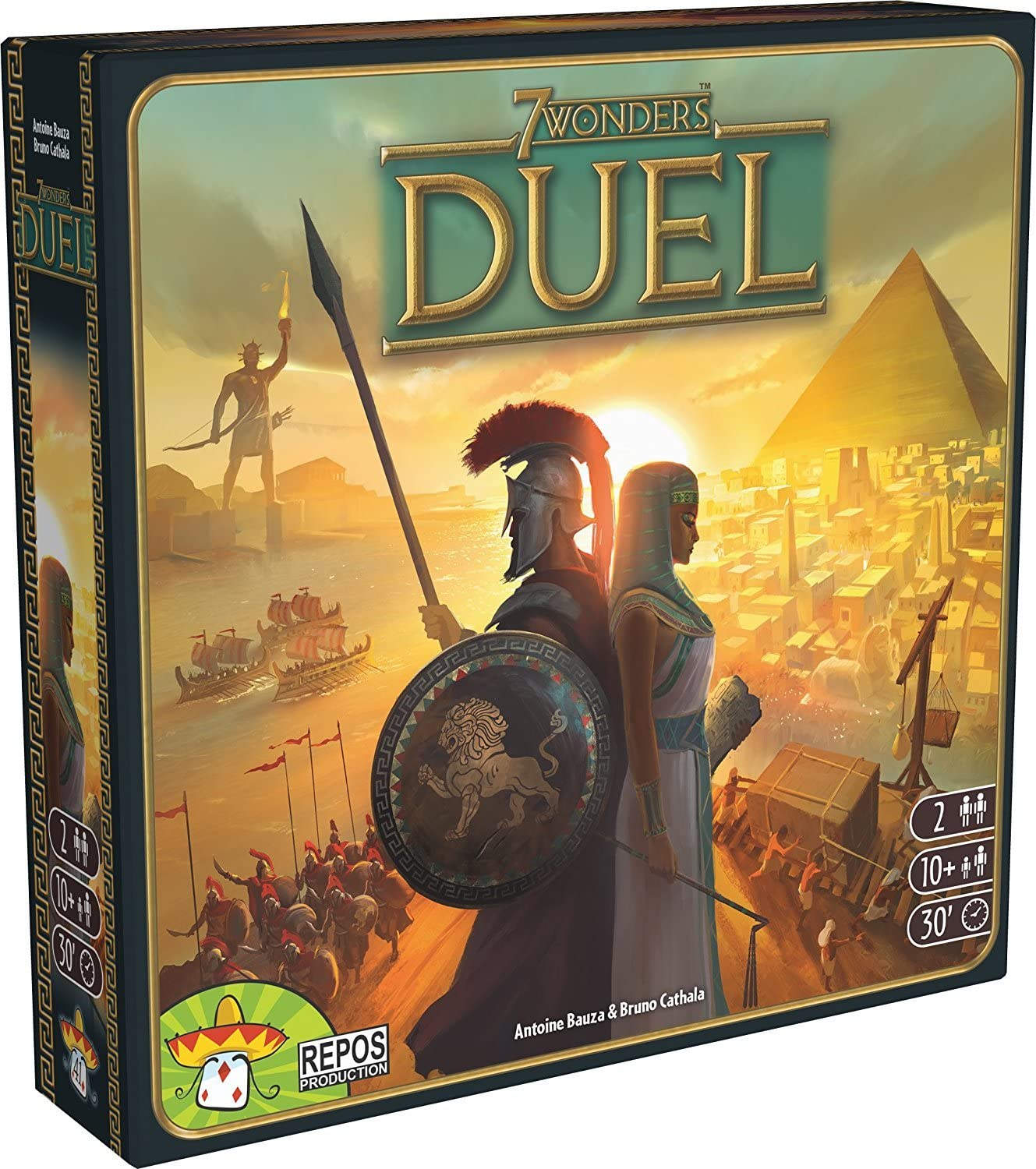 7 Wonders Duel - Strategy Board Game