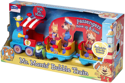 John Adams Pip Ahoy! Mr Morris' Bubble Train Playset