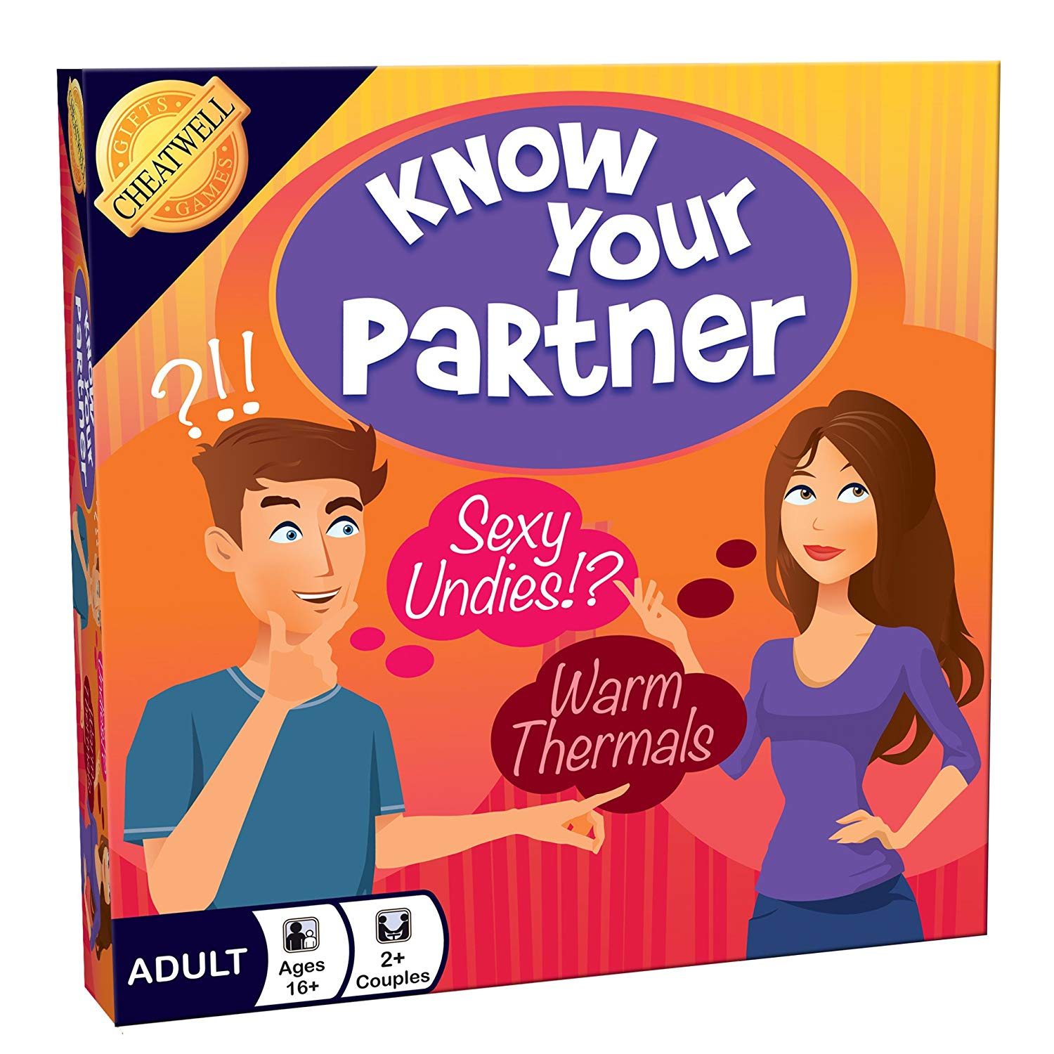 Cheatwell Games Know Your Partner Board Game