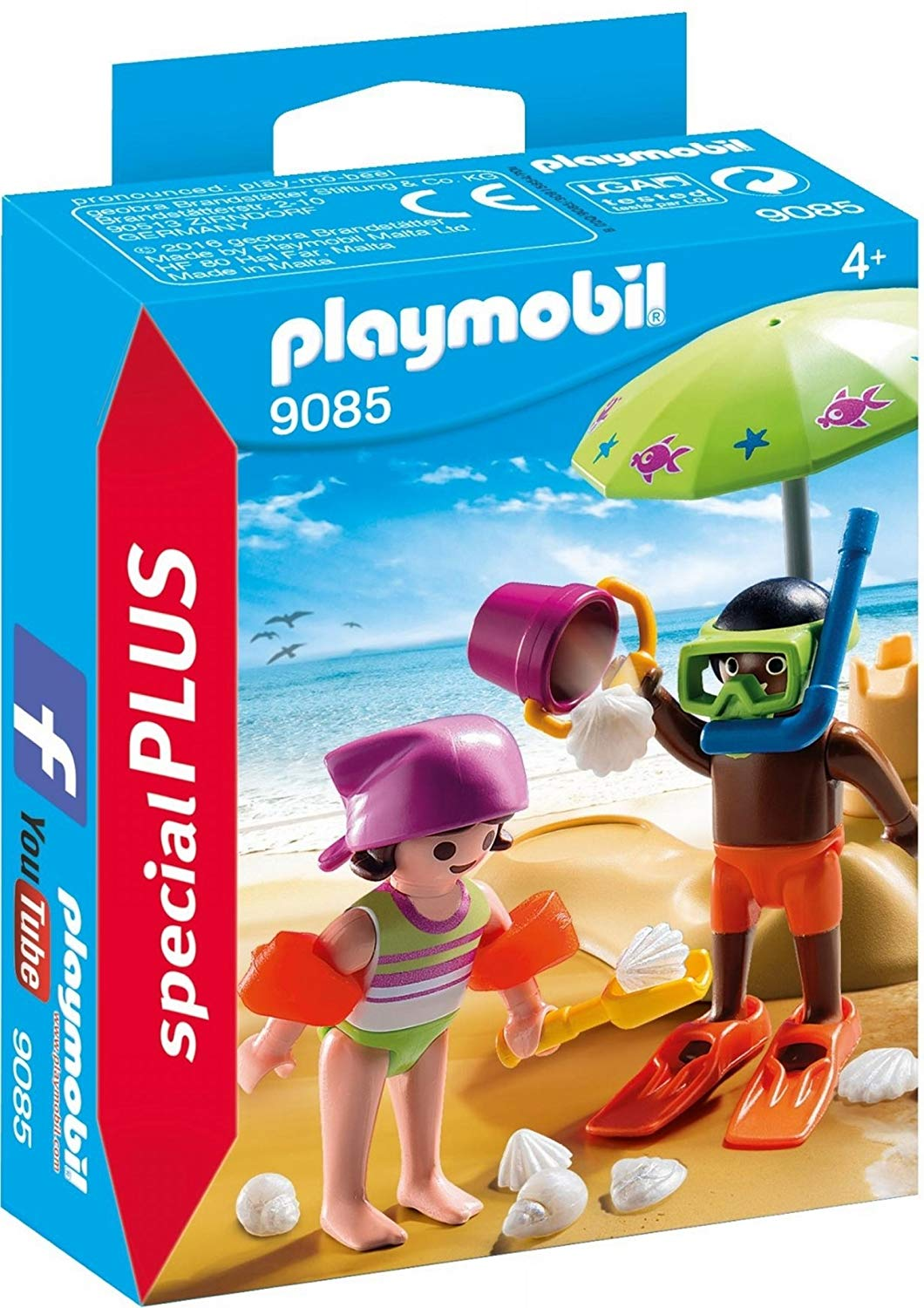 Playmobil Special Plus Children at the Beach