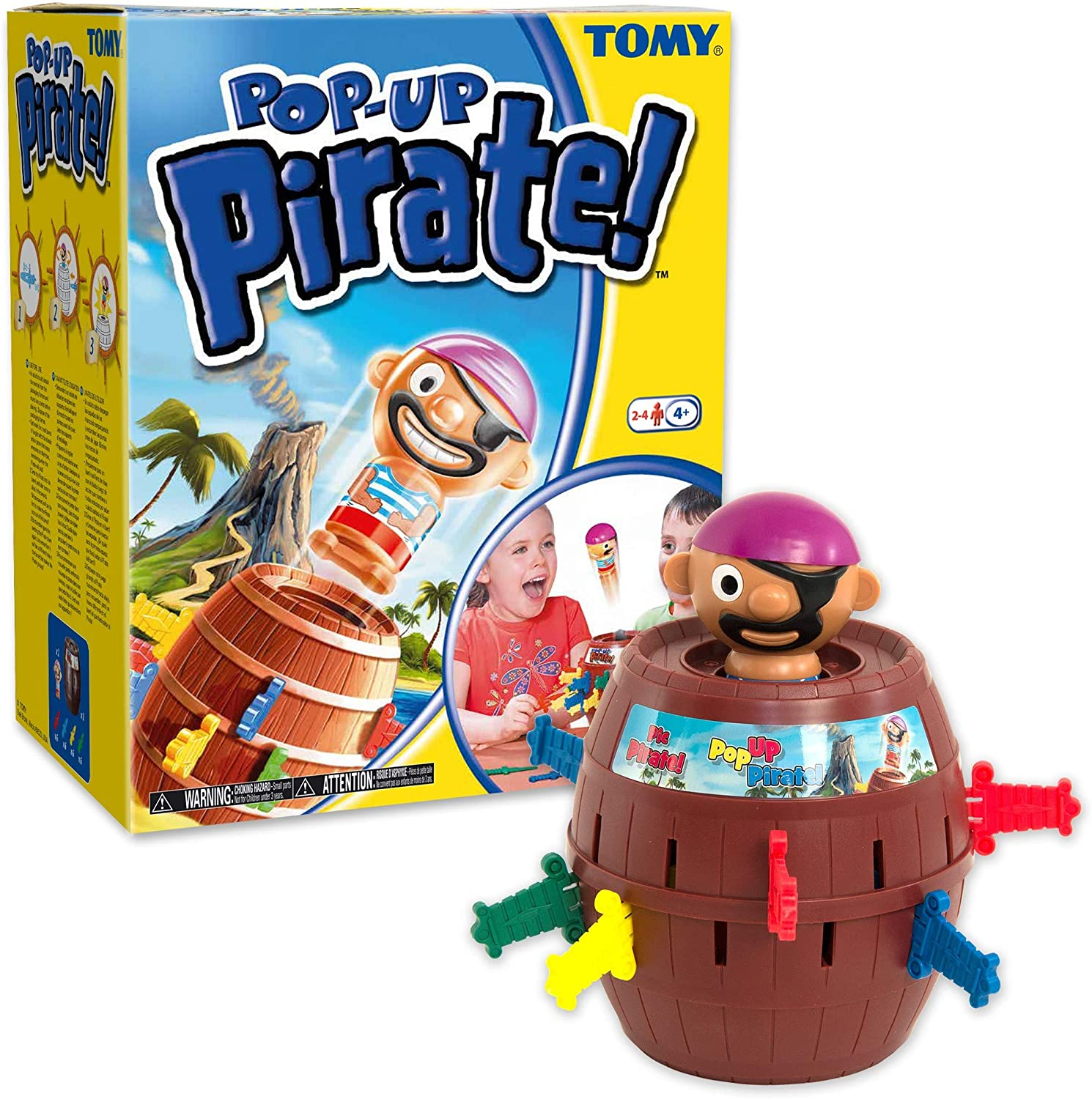 TOMY Pop Up Pirate Classic Children's Action Board Game