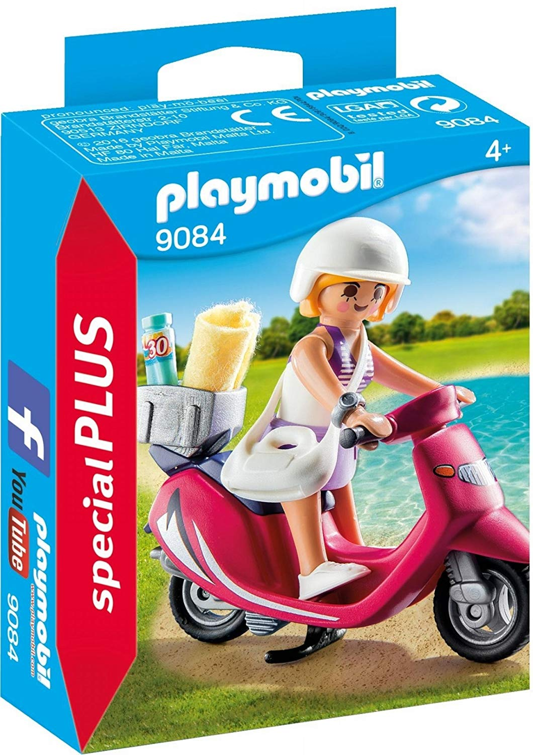 Playmobil Special Plus Beachgoer with Scooter