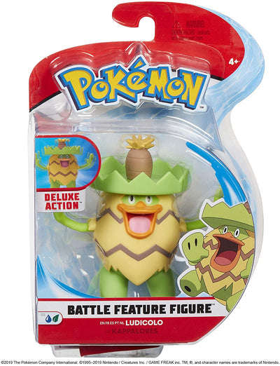 Pokemon Battle Feature 4.5 Inch Figure - Ludicolo
