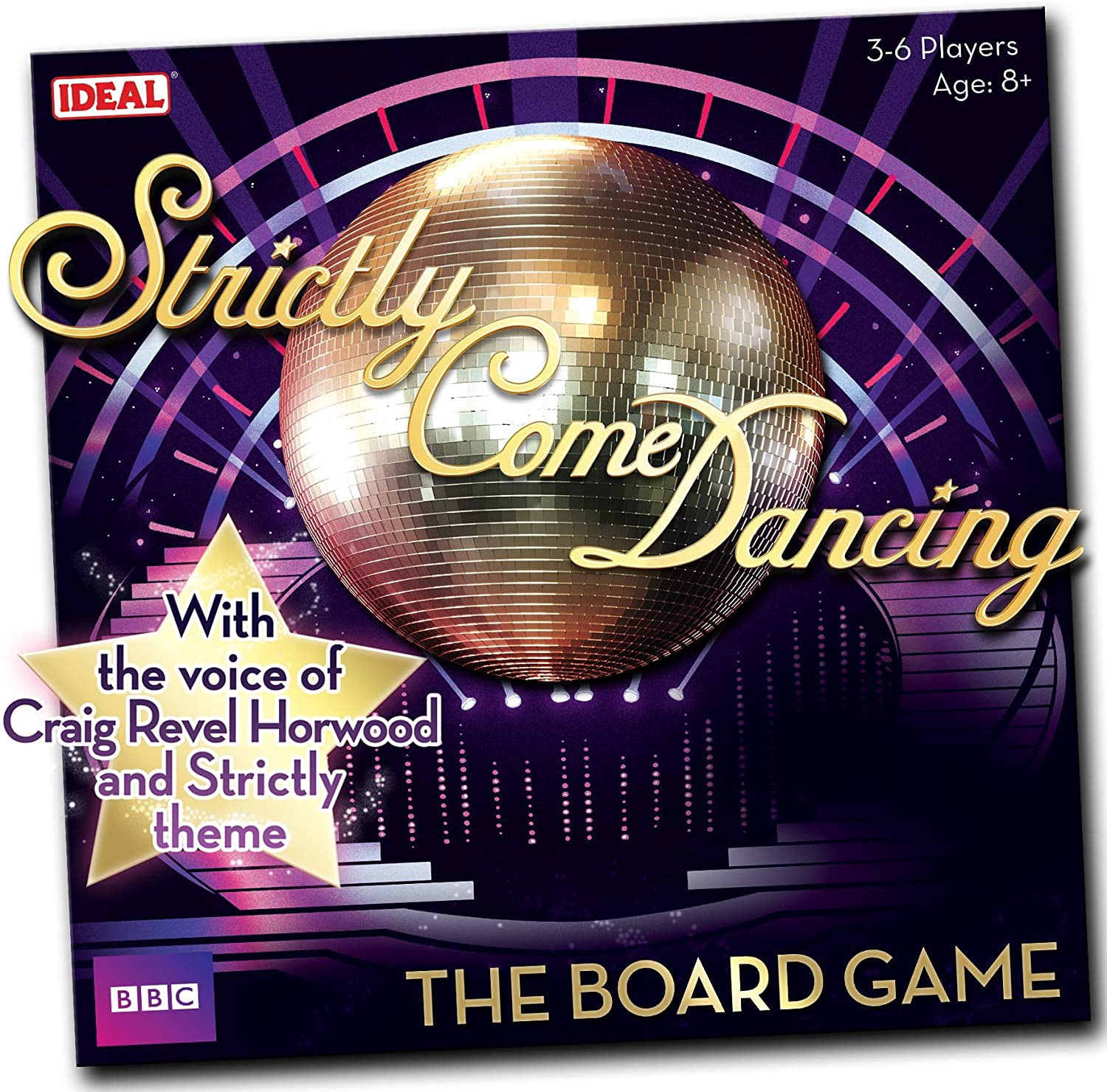 John Adams Strictly Come Dancing - The Board Game