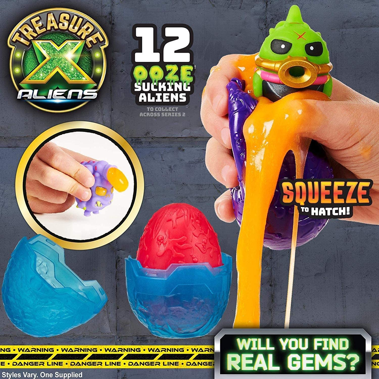 Treasure X Aliens - Alien Ooze Eggs Single Pack
