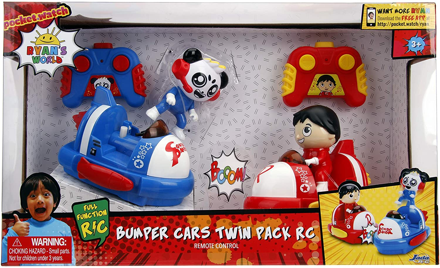 Ryans World Bumper Cars Twin Pack RC