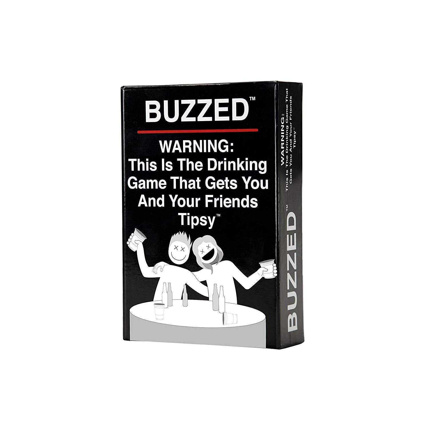 PRE-ORDER - Buzzed - This is The Drinking Game That Gets You and Your Friends Tipsy!