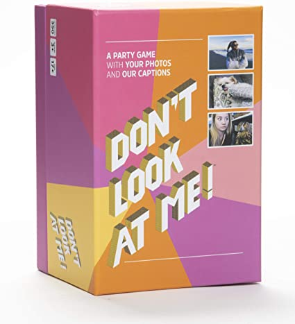 Don't Look at Me! Adult Party Game with Your Photos