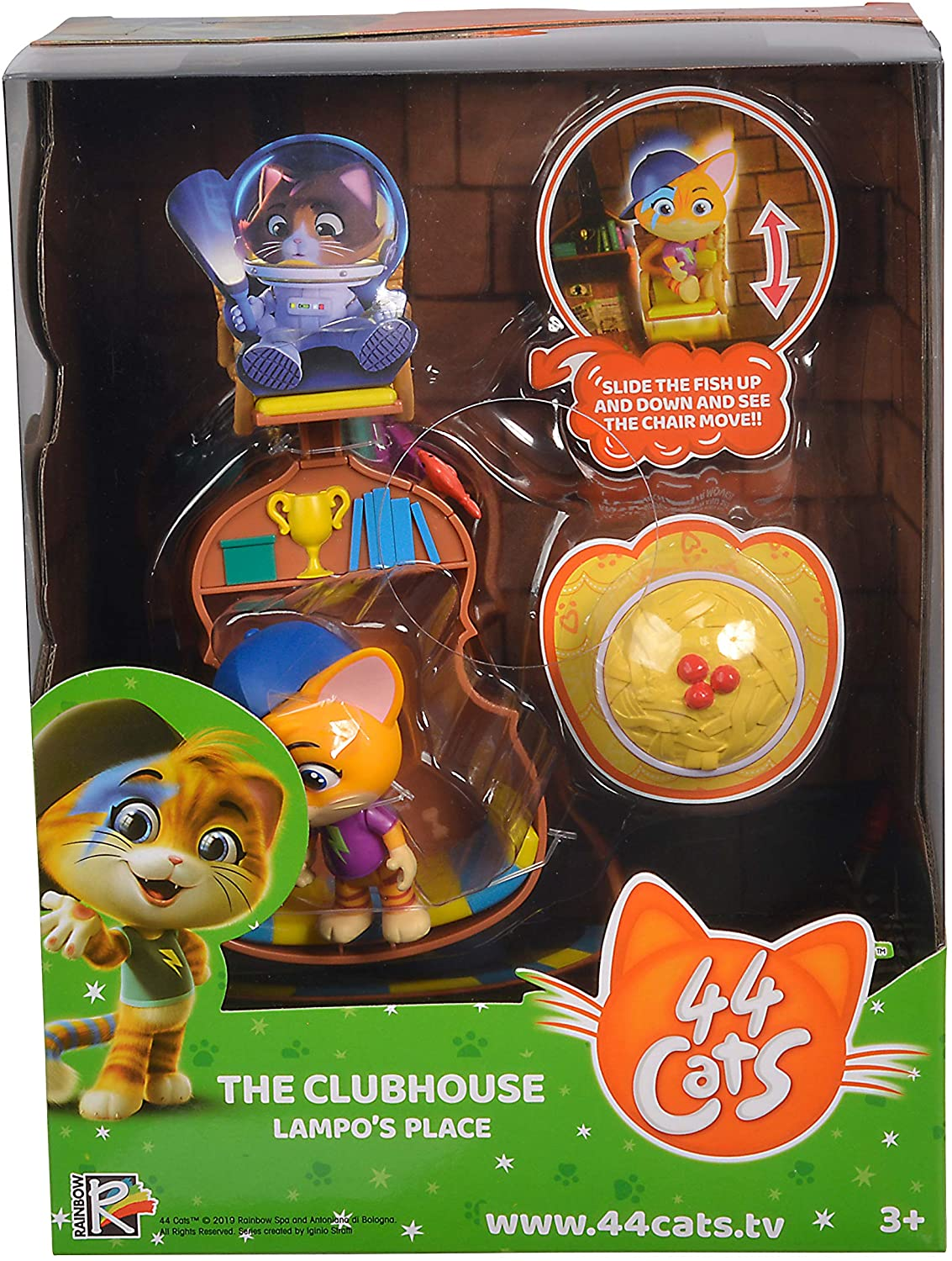 44 Cats Playset Lampo