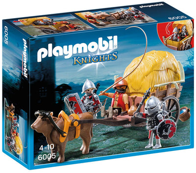 Playmobil Hawk Knights with Camouflage Wagon