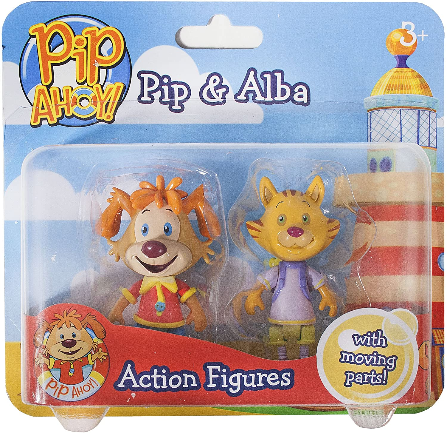 John Adams Pip Ahoy! Pip and Alba Action Figures