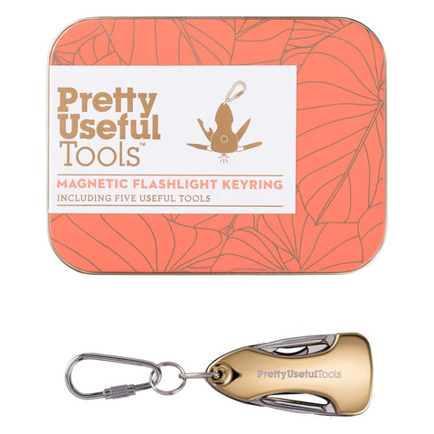 Pretty Useful Tools - Magnetic Flashlight Keyring