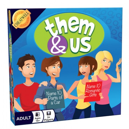 Cheatwell Games Them & US Board Game