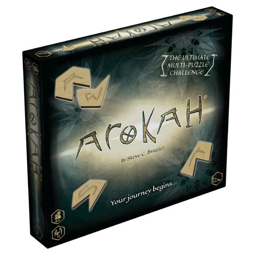 Arokah Board Game Multi Puzzle Challenge
