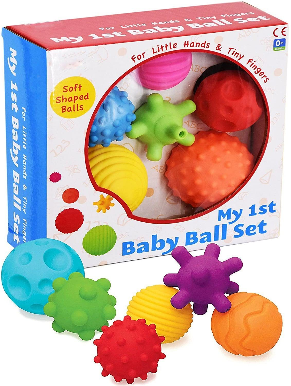 A to Z My First Baby Textured Sensory Soft Balls