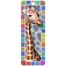 3D Bookmark - Giraffe