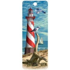 3D Bookmark - Lighthouse