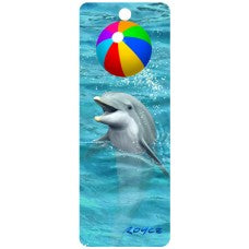 3D Bookmark - Beach Ball
