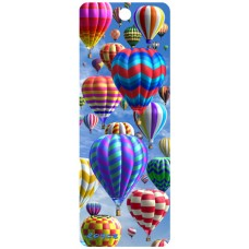 3D Bookmark - Hot Air Balloons
