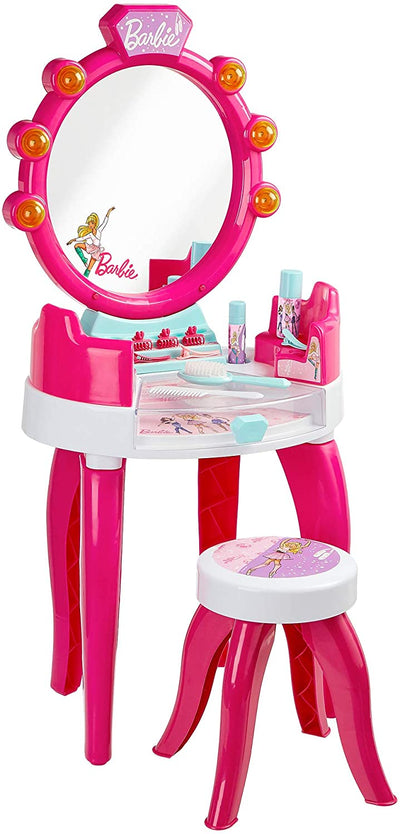 Barbie beauty studio with light and sound function with accessories