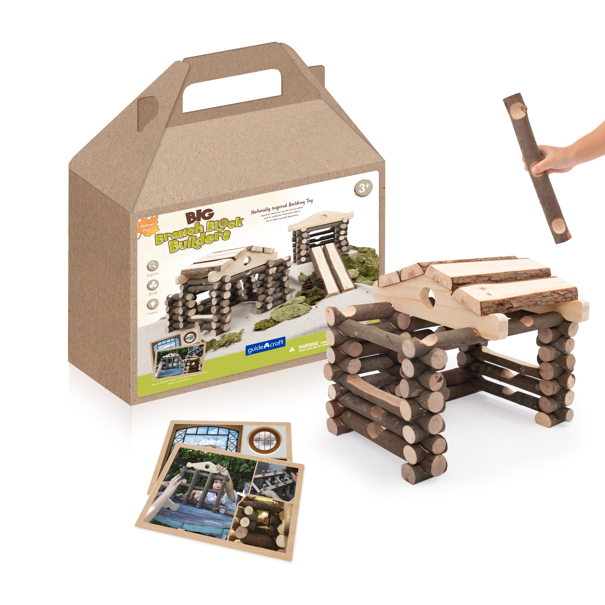 Big Branch Block Builders - 125 pc. set