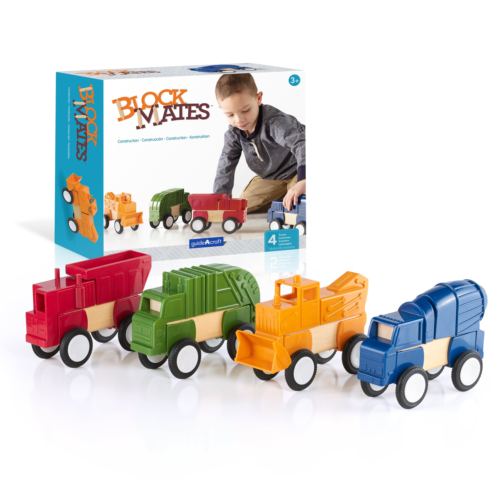 Block Mates® - Construction Vehicles