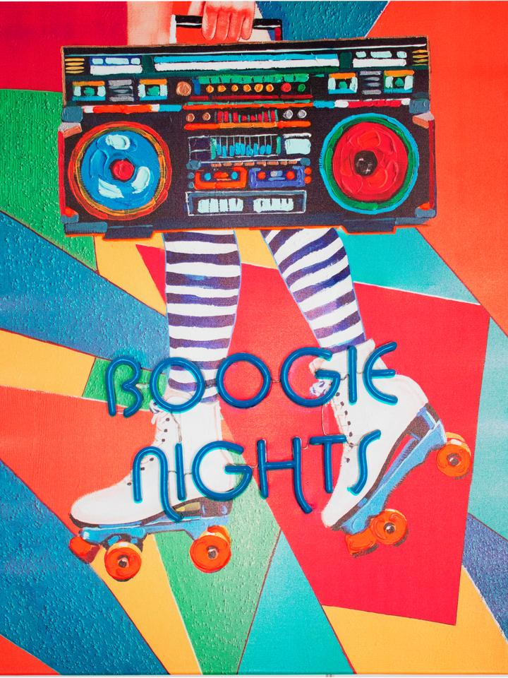 Wall Painting (LED Neon) - Boogie Nights