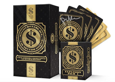 Million Dollars, But...... Card Game