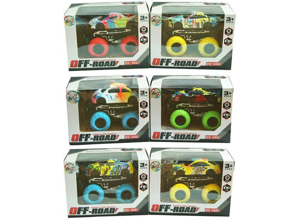 Die-Cast Monster Truck (6 ASSTD)