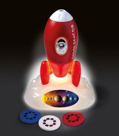 Outer Space Rocket Projector & Nightlight